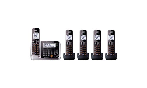 Panasonic KX-TG7875S Bluetooth Cordless Phone