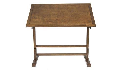 Studio Designs 42in Vintage Drafting Table/Rustic Oak 13305