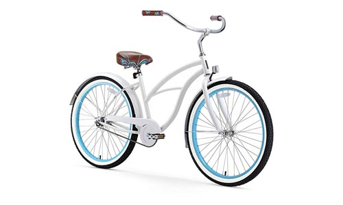 "Sixthreezero 26"" women's beach cruiser bike"