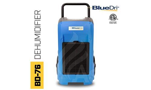 BlueDri BD-76-BLUE 76-Pint AHAM Commercial Dehumidifier