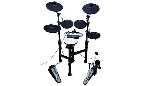 Carlsbro Electronic Drum Set with Realistic Kick Pedal