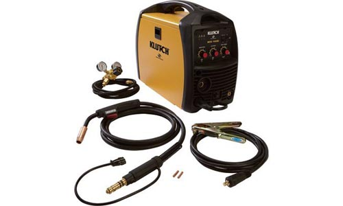Klutch MIG Inverter-Powered Wire-Feed MIG Welder