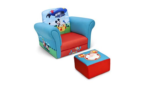 Delta Children Upholstered Chair ( Disney Mickey Mouse)