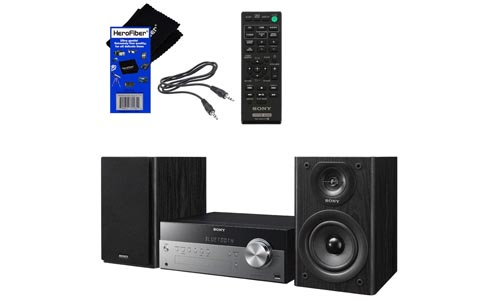 Sony Stylish Micro Music Stereo System with CD Player