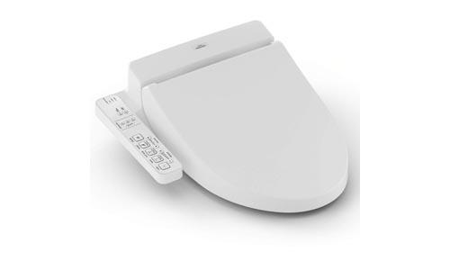 TOTO SW203401 C100 WASHLET Electronic Bidet Toilet Seat with PreMist, Elongated, Cotton White