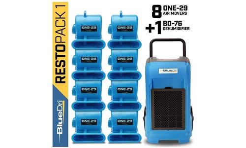 BlueDri Blue RestoPack1 Commercial Dehumidifiers