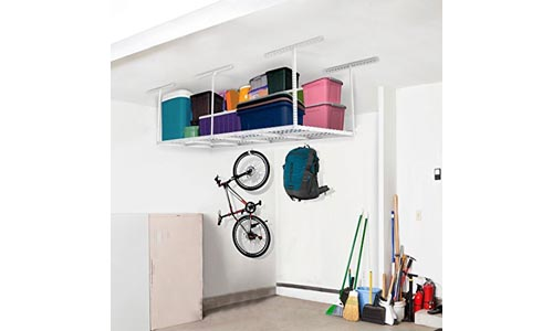 FLEXIMOUNTS 3x8 ceiling adjustable storage rack