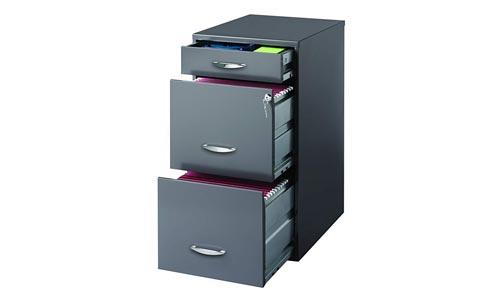 Hirsh SOHO 3 Drawer File Cabinet