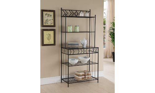 Black Metal Kitchen Baker Racks