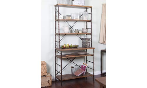 Modhaus Living Industrial Bakers Rack