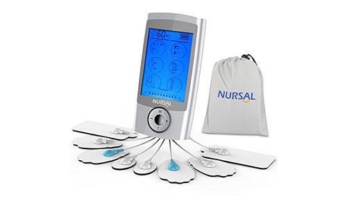 NURSAL TENS Unit Rechargeable Massager