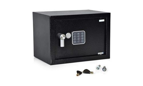 SereneLife Fireproof Lock Box