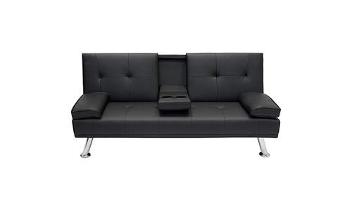 Best Choice Products Modern Faux Recliner Couch