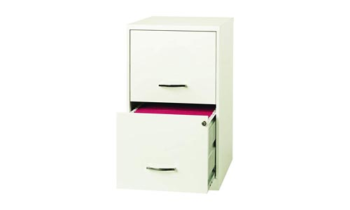 Space solutions 2 Drawer Metal Cabinet