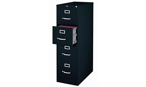 Scranton and Co 4 Drawer Letter File Cabinet