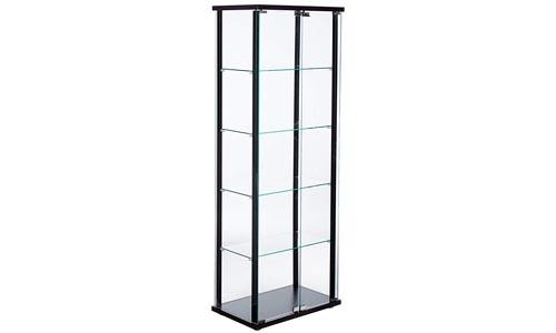 Coaster Contemporary Black Curio Cabinets