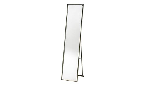 Adesso WK2444-22 Alice Floor Mirror – Powder Coated Champagne Full Length Mirror with Steel Finishing. Home Decor Accessories