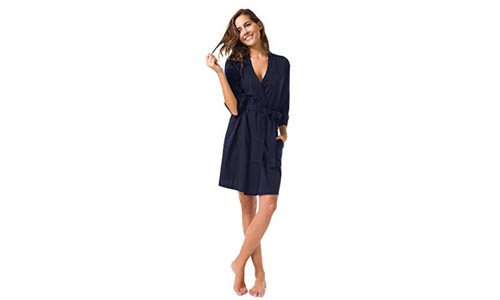 SIORO Womens Cotton Robe