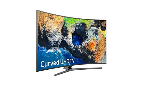 Samsung Electronics UN65MU7500 Curved 65-Inch 4K Ultra HD Smart LED TV