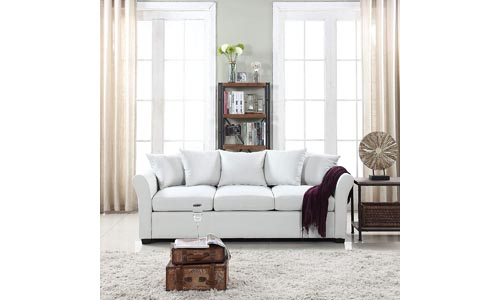 Classic and Traditional Living Room Fabric Couch