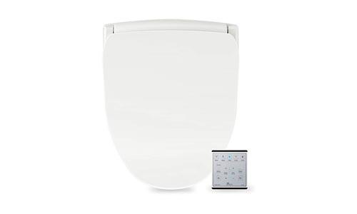 Bio Bidet Slim TWO Bidet Smart Toilet Seat in Elongated White