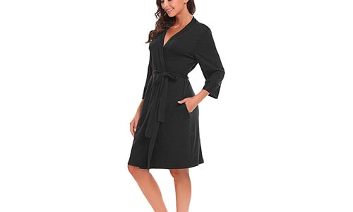 BLUETIME Women Robe Soft