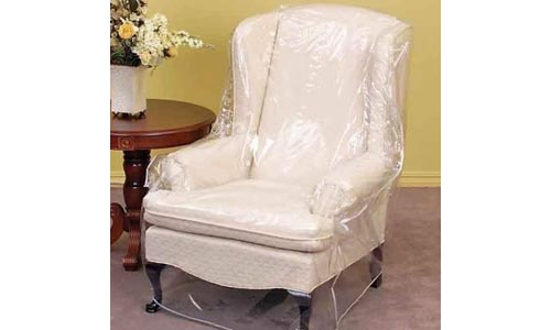 LAMINET - All-Over Dining Room Chair Cover - Set of 4