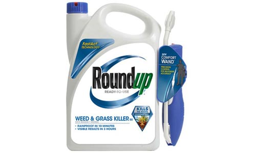 Roundup 5109010 Weed and Grass Killer III Ready-to-Use Comfort Wand Sprayer, 1.10-Gallon