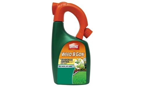 Ortho Weed B Gon Weed Killer for Lawns Plus Crabgrass Control Ready-Spray Hose End Attachment, 32-Ounce (Not Sold in HI, NY)