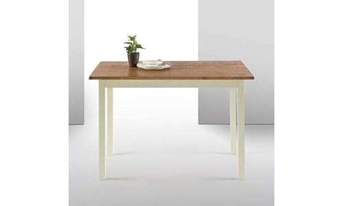 Zinus Farmhouse Wood Dining Table