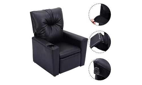 Kids Recliner Leather Sofa Chair