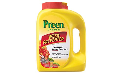 Preen Garden Weed Preventer - 5.625 lb. Covers 900 sq. Ft.