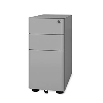 DEVAISE 3 -Drawer Classic Metal File Cabinet