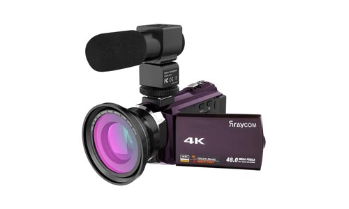 Rraycom Ultra HD 4K Video Camera