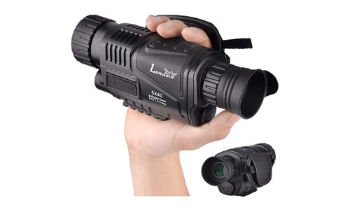 Landove Infrared HD Digital Night Vision Monocular