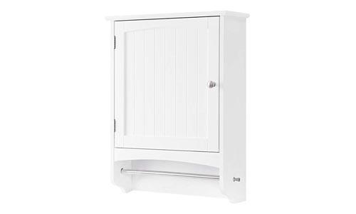 SONGMICS UBBC22WT Storage Cabinet