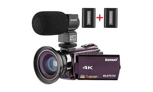 Kenuo 4K Video Camera Camcorder