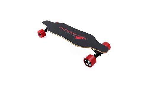 PHOENIX RYDERS Electric Skateboard with Remote Controller