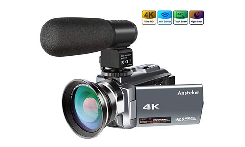 Ansteker Ultra-HD 4K Video Camera