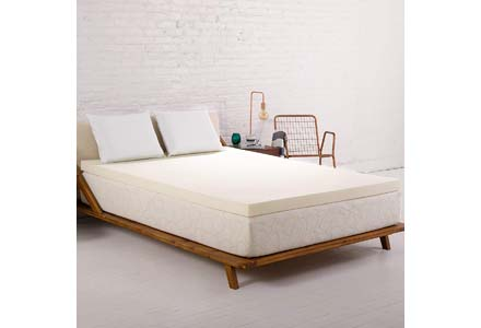 SleepJoy 3-Inch ViscO2 Mattress Topper
