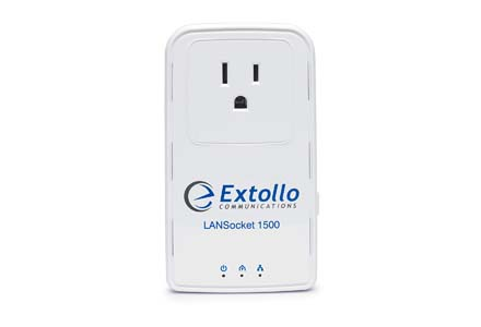 Extollo Ethernet Homeplug AV2 MIMO 2 Gbps Adapter Kit