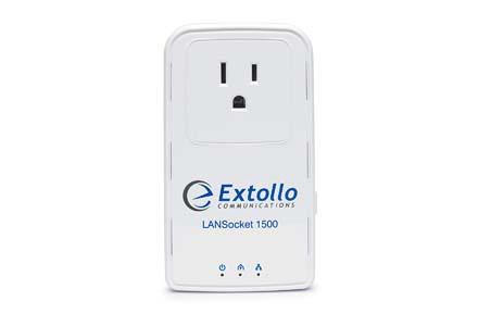 Extollo Ethernet Homeplug AV2 MIMO 2 Gbps Adapter Kit