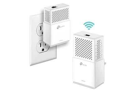 AV1000 Gigabit Homeplug Dual band AC Wi-Fi Extender