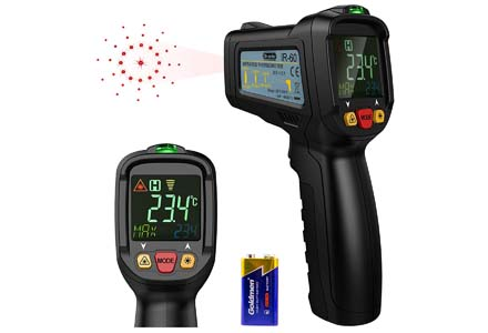 Dr.meter Non-Contact Laser Thermometer