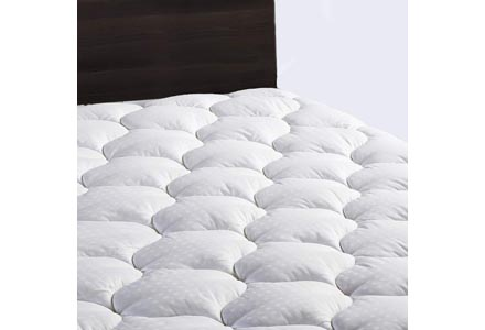 LEISURE TOWN Twin Overfilled Mattress Pad