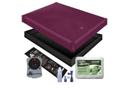 Free Flow Waterbed Mattress/Liner/Heater/Pad/Fill Drain/Conditioner Kit (Queen 60x84 1ffb2)
