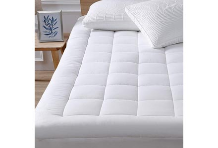 Mattress Pad Cover-Cotton, Twin XL