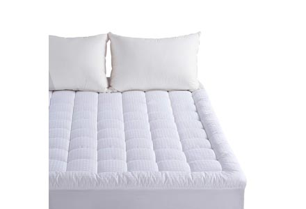 Twin Mattress Pad - Pillow Top Fitted Cover